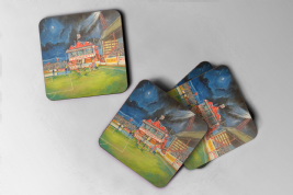 broomfield pavilion  Coaster set of four